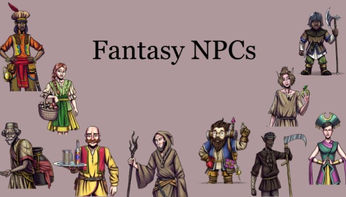 Fantasy NPC voice pack bundle