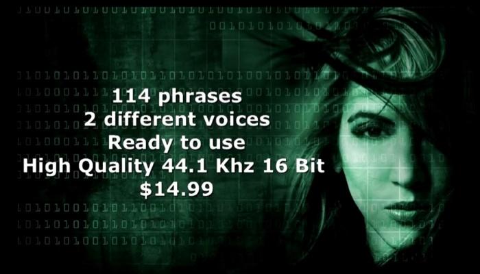 FPS tutorial/hacker voice pack