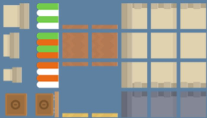 Buildings extension pack for making a plateformer game