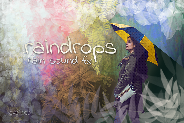 Raindrops – Rain and Thunder Sound Effects