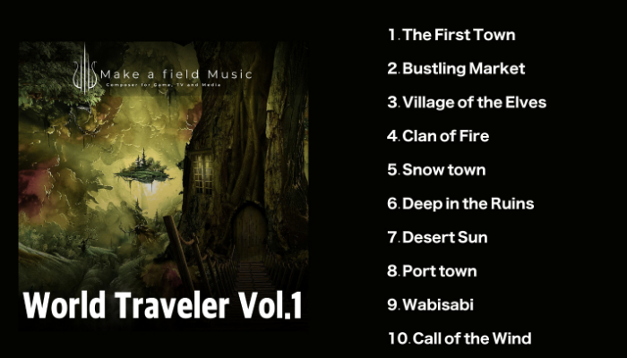 [Music Assets] World Traveler vol.1- RPG Music Asset Pack