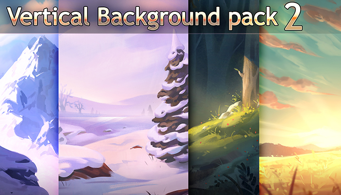 Vertical Background Pack 2