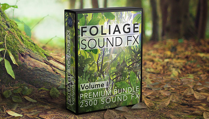 Foliage Sound FX – Volume One