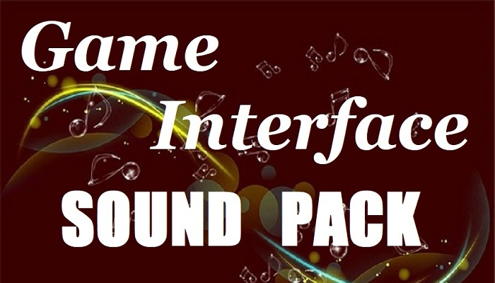 Game Interface Sound Pack