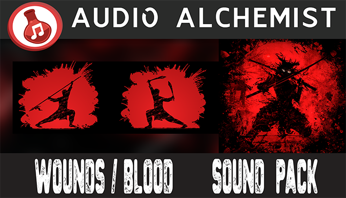 Wounds & Blood Sound Pack