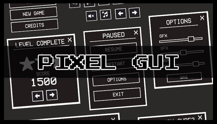 Pixel GUI