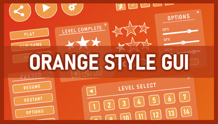 Orange style GUI