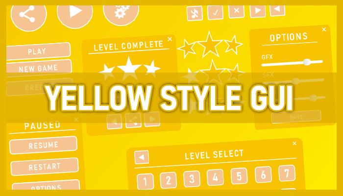 Yellow style GUI