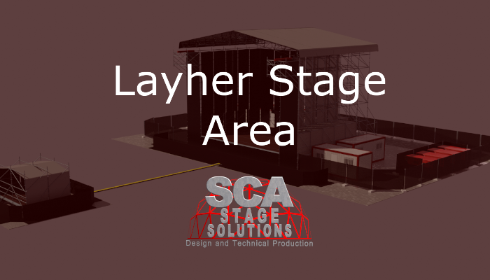 Layher Stage Area