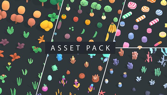 Environment Mega Pack – Animation Asset