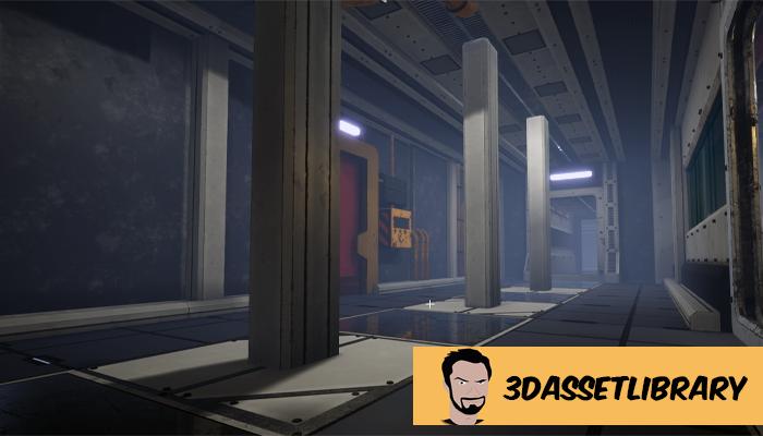 Sci-Fi Interior Vol 1