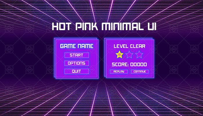 Hot Pink – Minimal UI Design