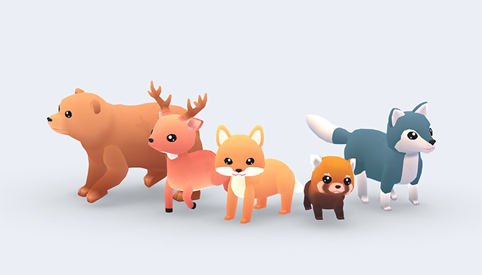 Forest Animals – Wild Series