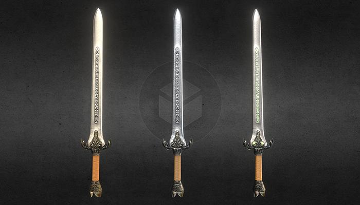 Baphomet-Sword