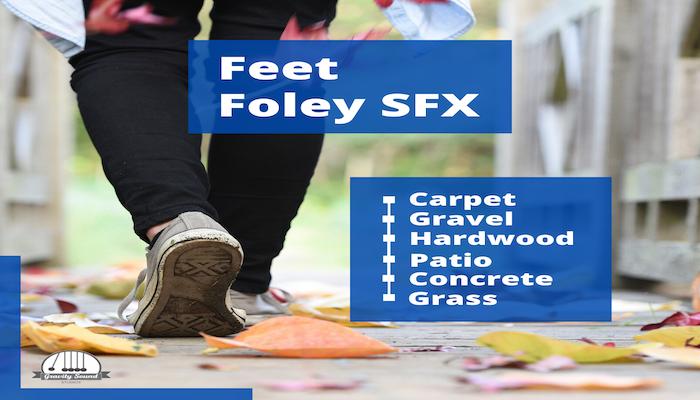 Footsteps Foley SFX