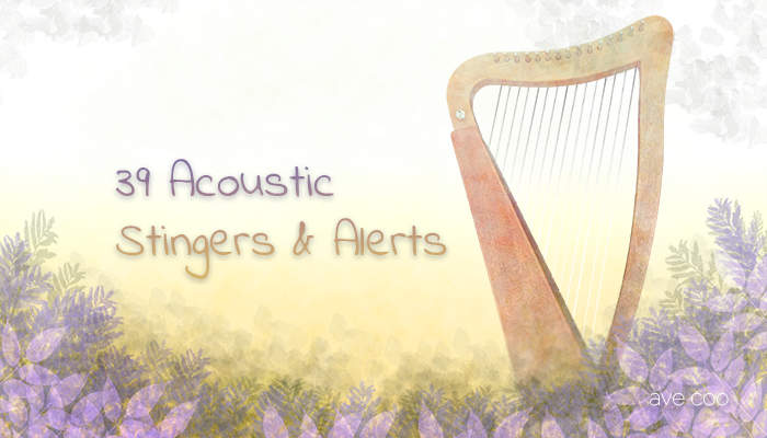 39 Acoustic Stingers and Alerts