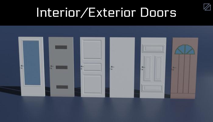 Interior/Exterior Doors