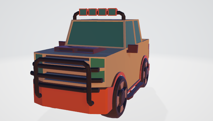 Low Poly Pickup