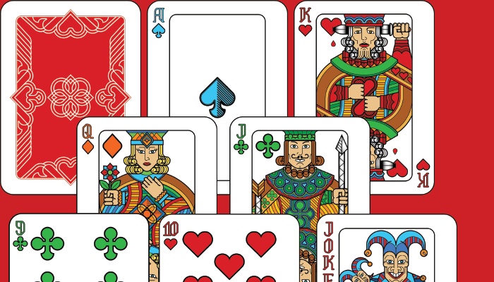Hand Painted – Poker Card Deck Set