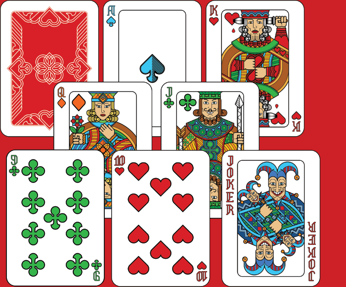 Hand Painted – Poker Card Deck Set