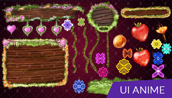 Assets: Free UI Flowers, Nature [Kit]