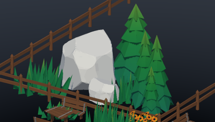 Low Poly Forest Nature Pack