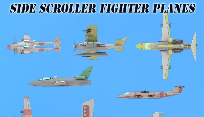 Side Scroller Fighter Planes