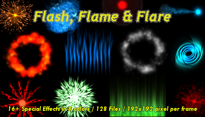 Flash, Flame & Flare Special Effects 1