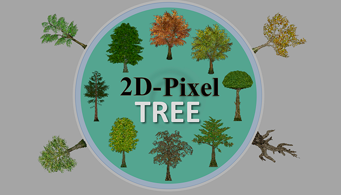 MindEst – 2D Pixel Tree Asset Pack