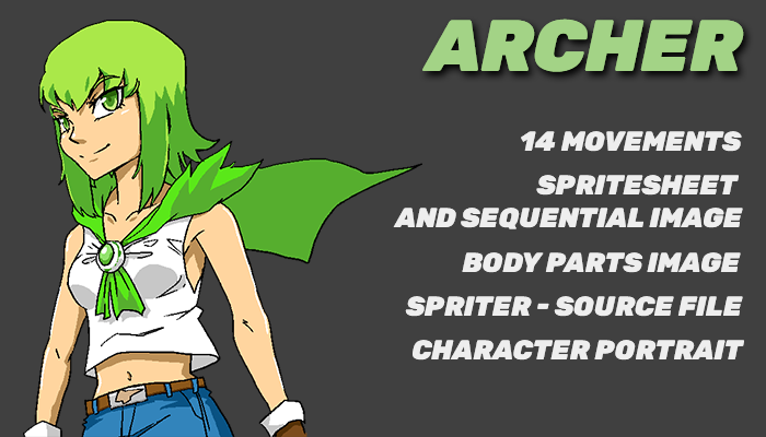 Archer Anime Girl