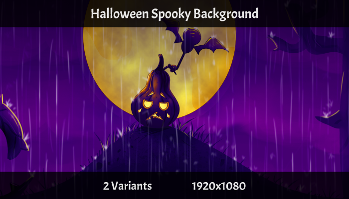 Spooky Halloween Game Background