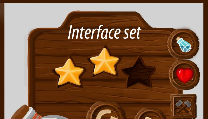 Interface for a mobile game