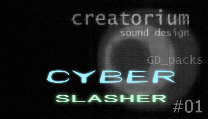 Creatorium GD packs – Cyber Slasher 01