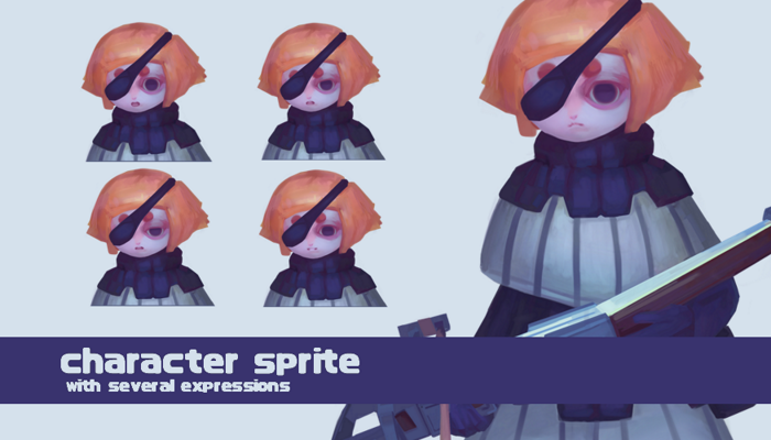 Crossbow Girl – Character sprite pack