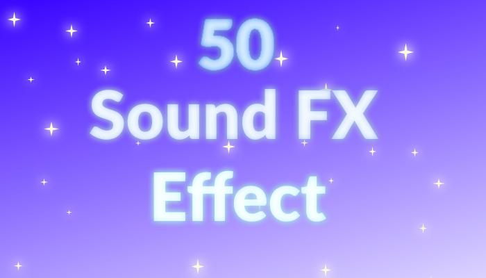 50 Sfx effects