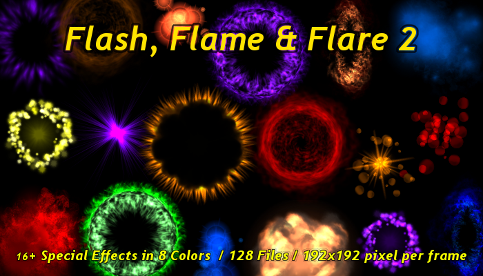 FLASH, FLAME & FLARE SPECIAL EFFECTS 2