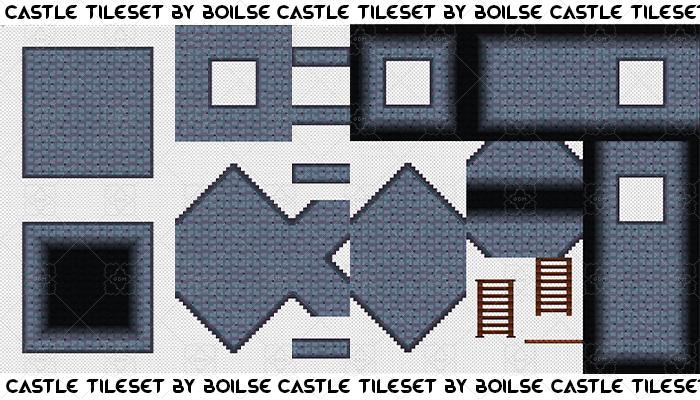 Castle tileset