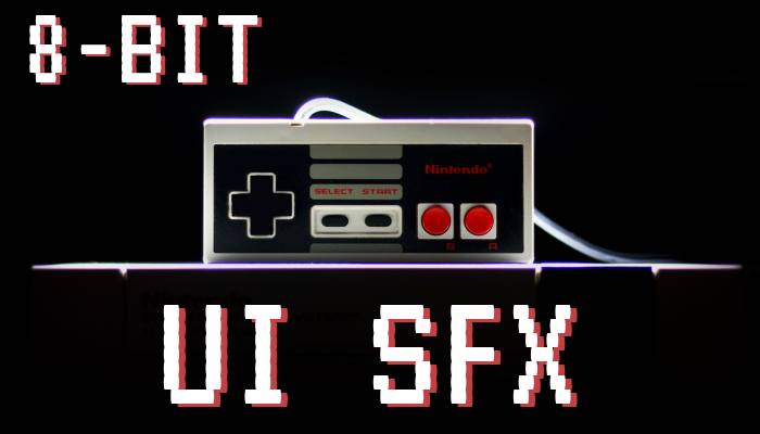 8bit User Interface Sound FX