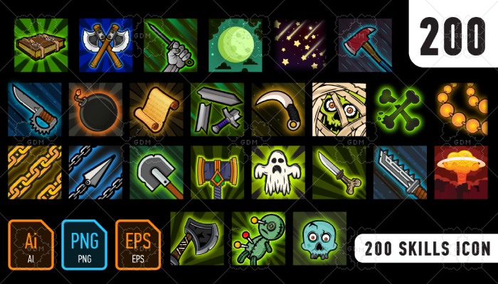 200 Skills icon