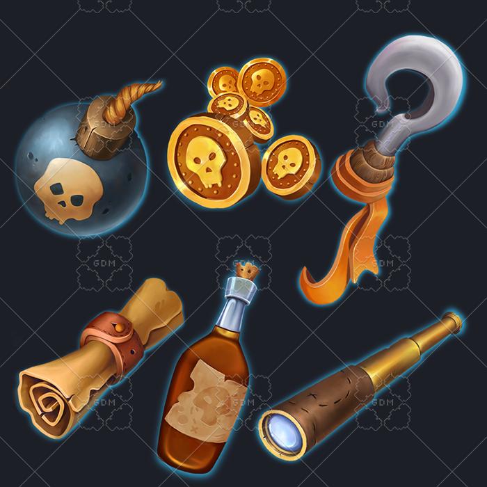 Pirate props