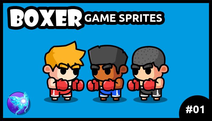 Boxer Game Sprites 01