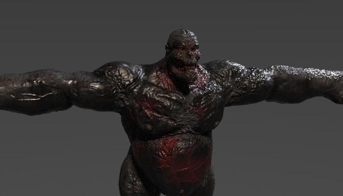 Gorilla Zombie Muscle