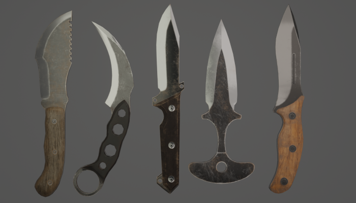 5 knife bundle