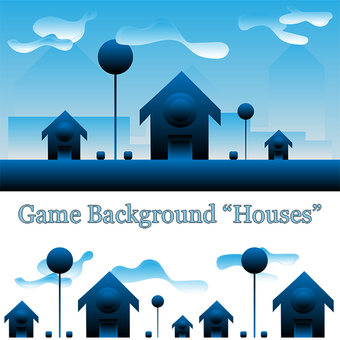 Game Assets – Game Background – Houses