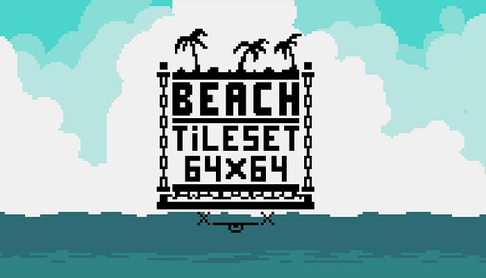Beach tileset 64×64