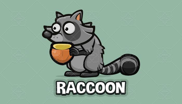 Animated raccoon