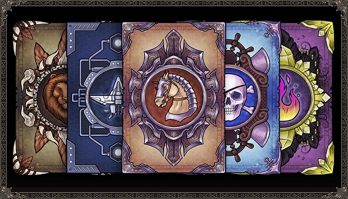 TCG Card Design 2D