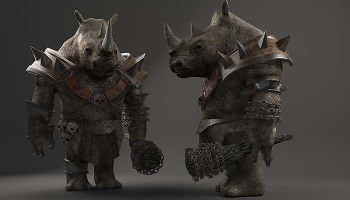 Rhino warrior