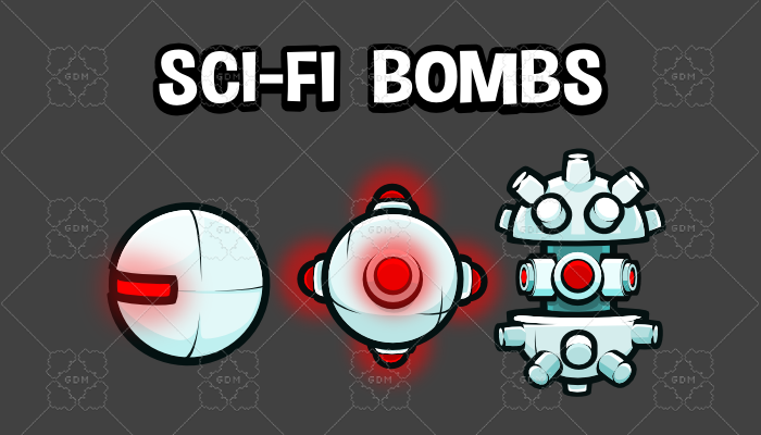 Sci fi bombs and mines