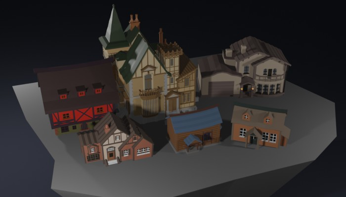 Little World Houses Pack